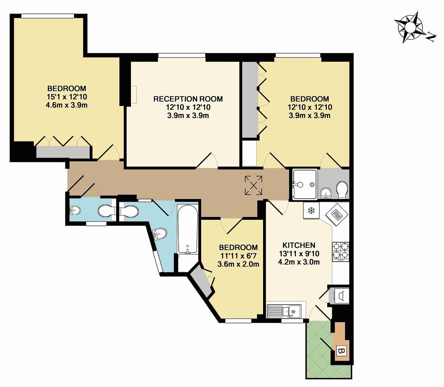 Marylebone - Floorplan